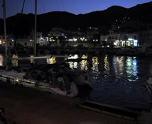 Night in Tilos